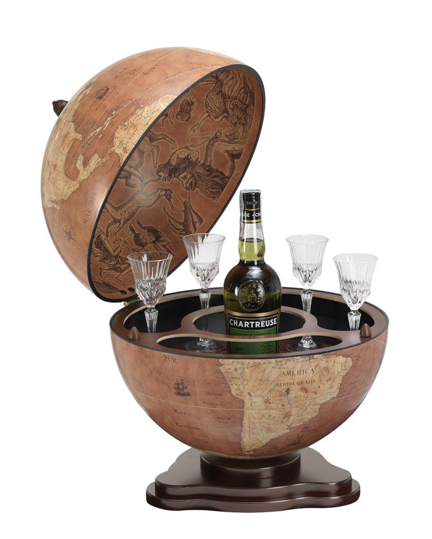 Galileo Italian Desk Globe Bar *Ex Display*