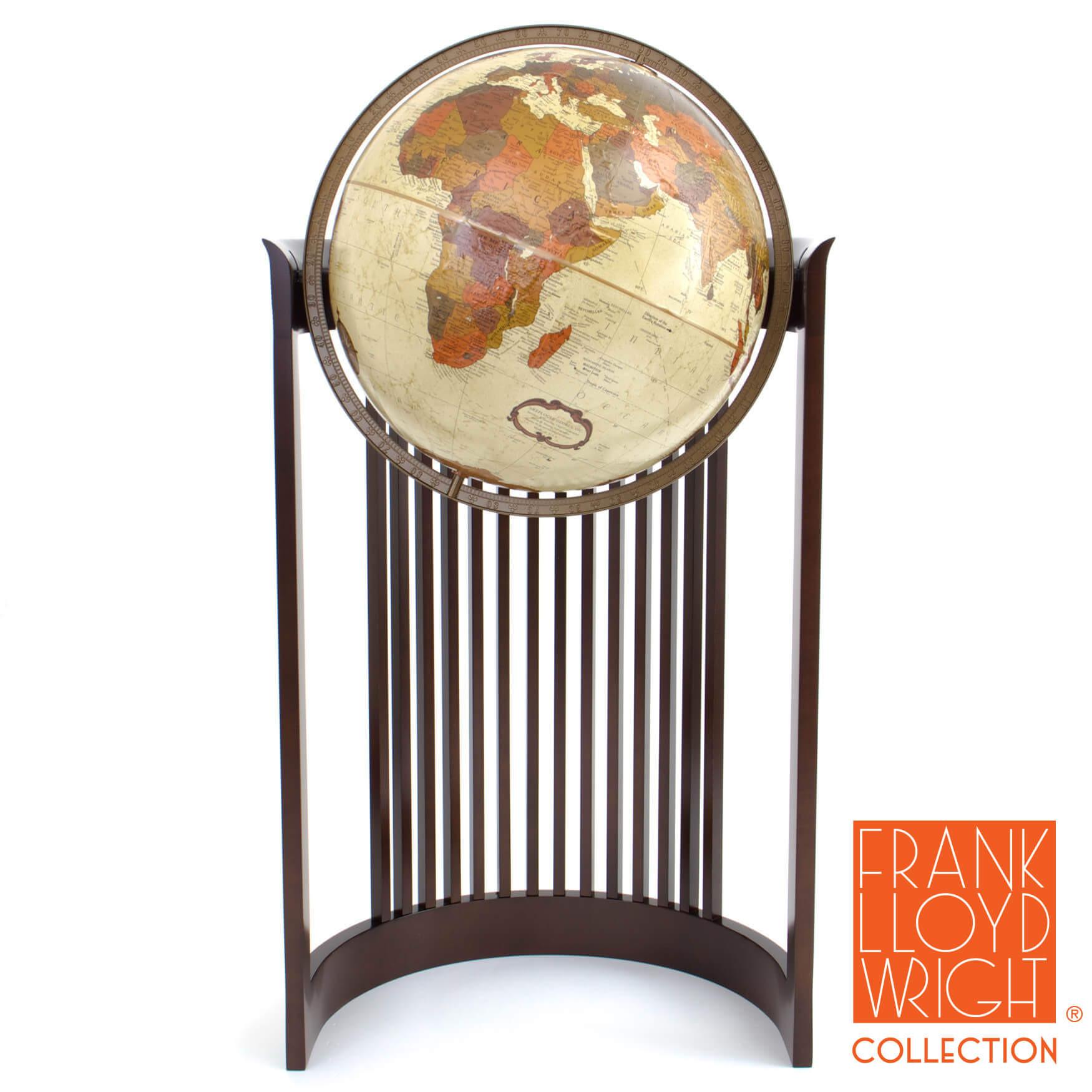 Barrel Chair Globe by Frank Lloyd Wright