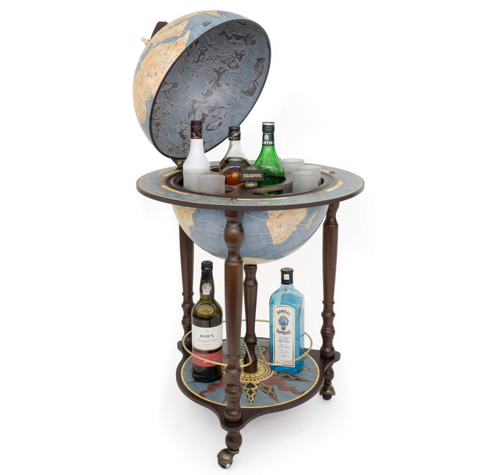 Da Vinci Blue Dust Bar Globe *Ex Display*