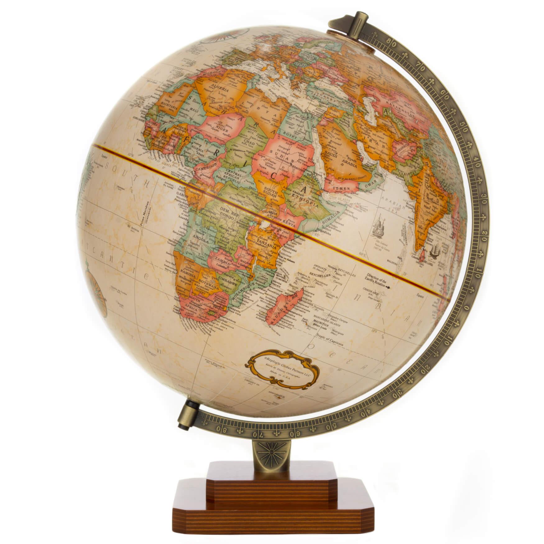 Canterbury Antique Globe