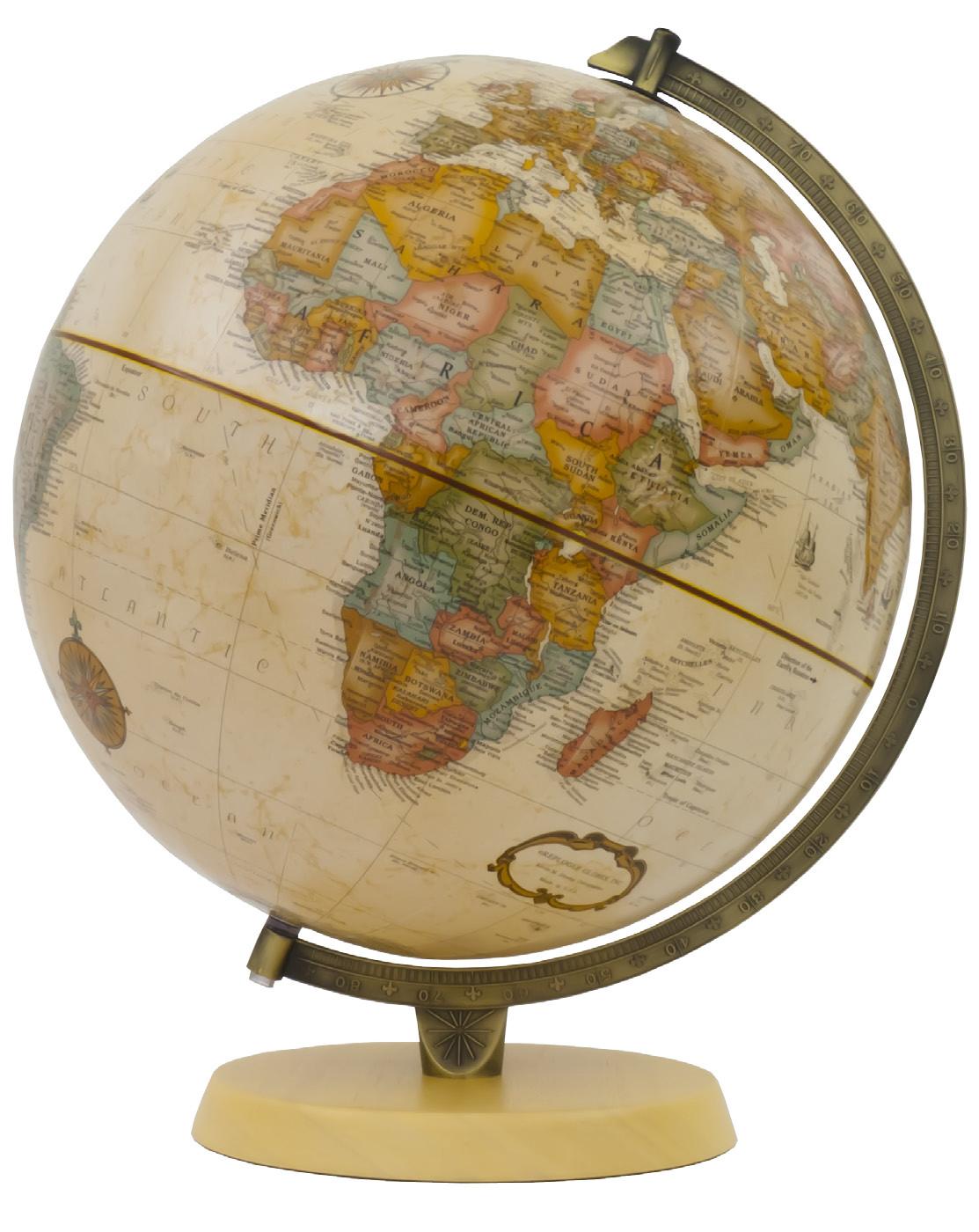 Chelmsford Antique Globe