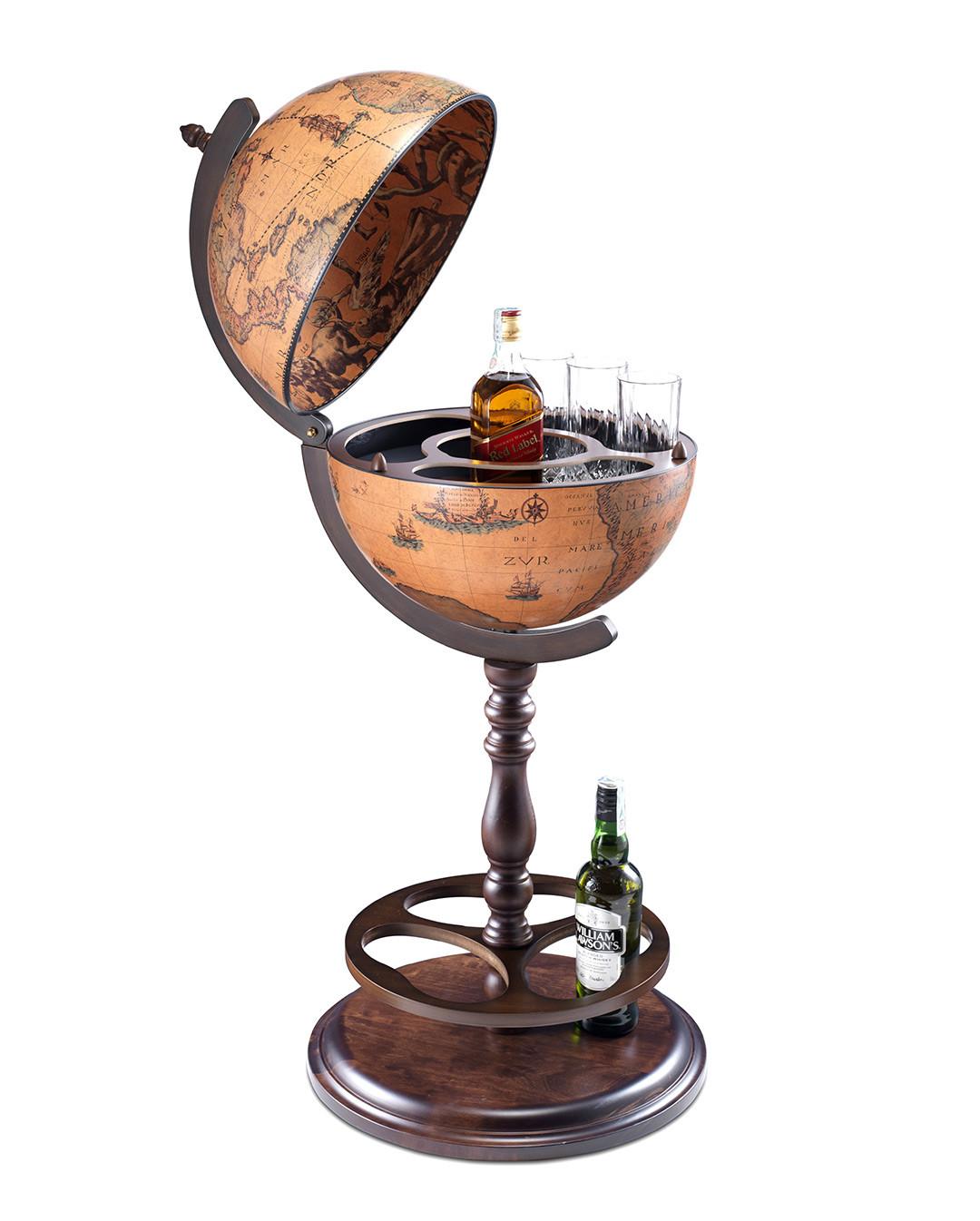 Darwin Italian Globe Bar Open