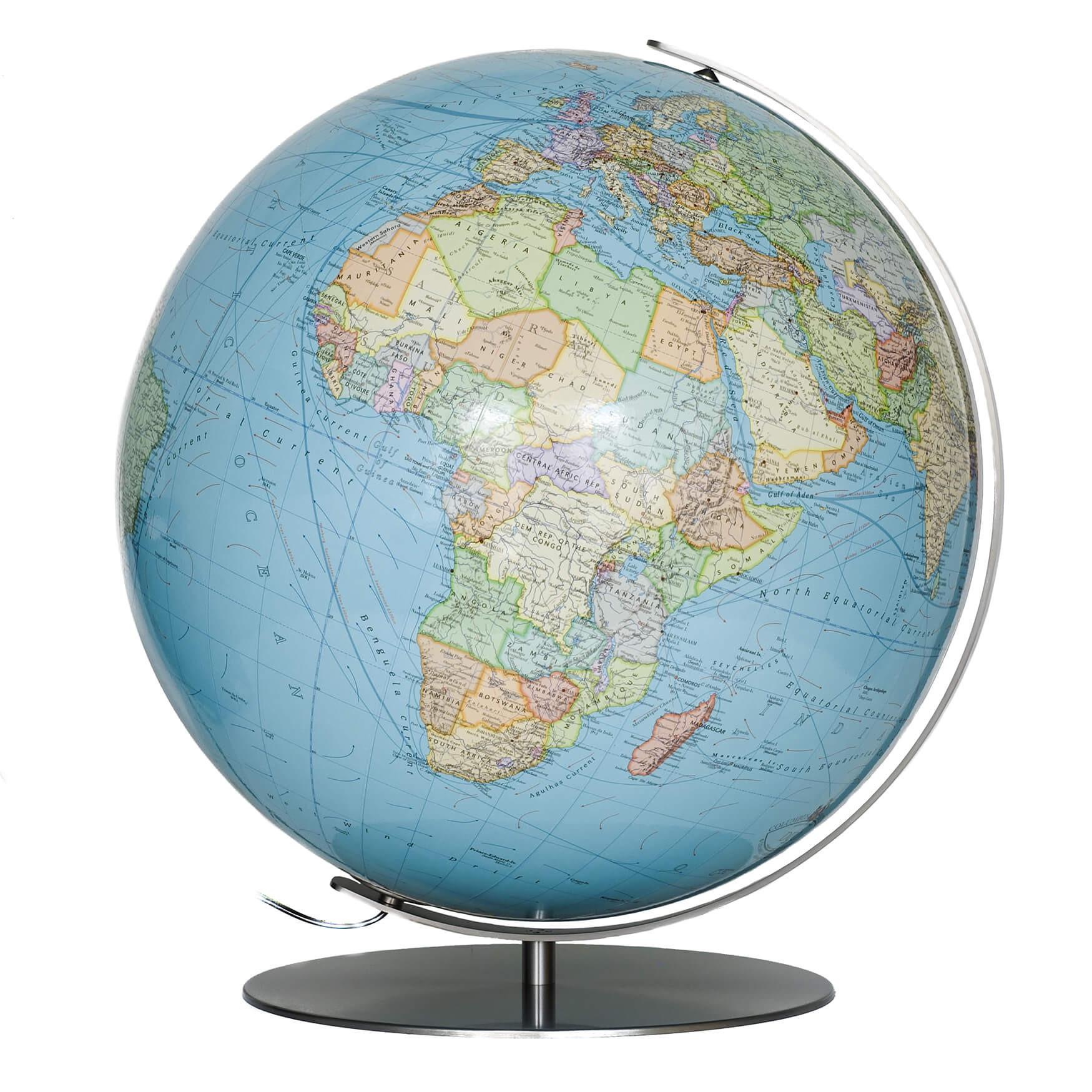 Forbes Illuminated Large Desk Globe
