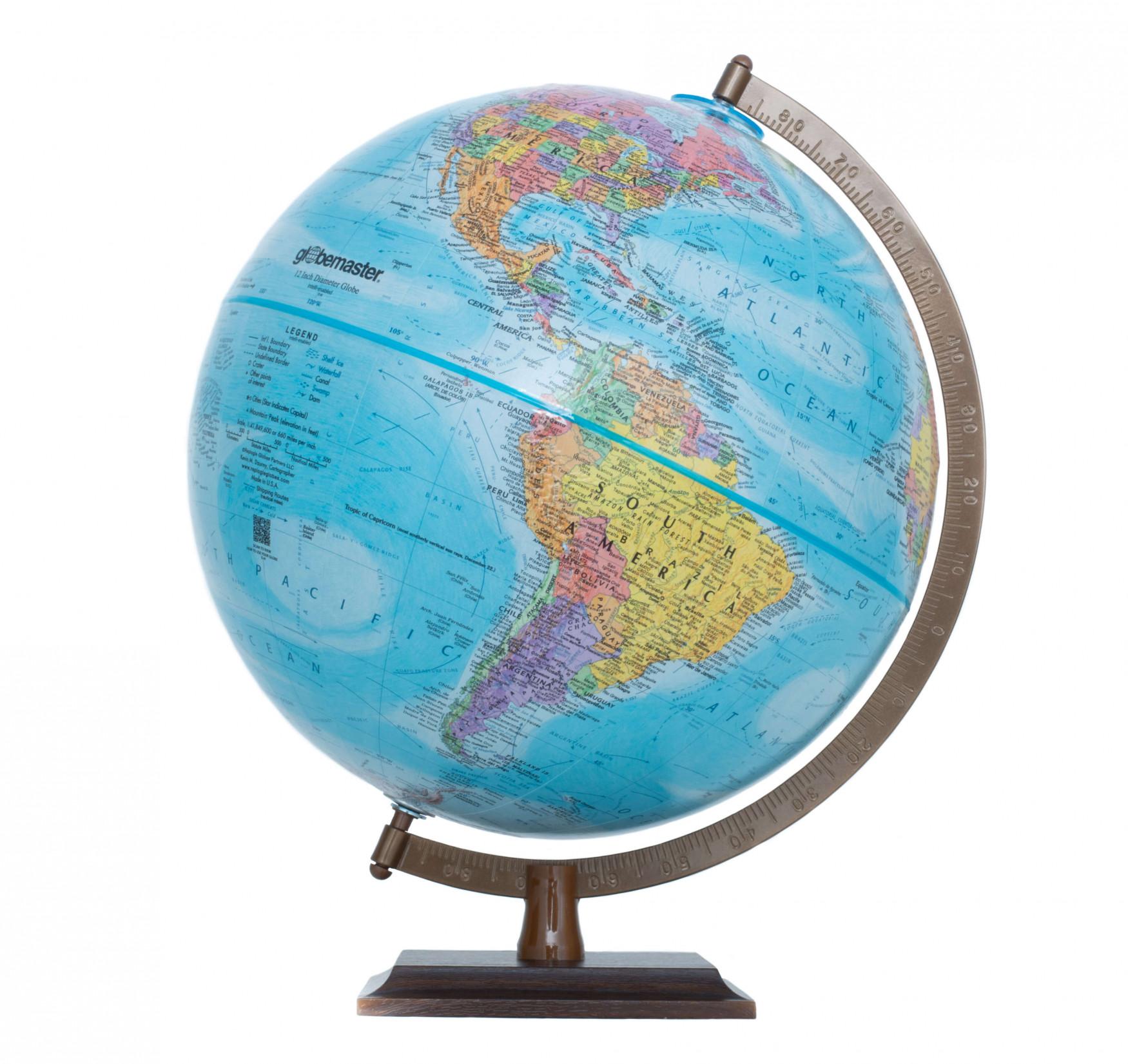 Globemaster Blue Globe
