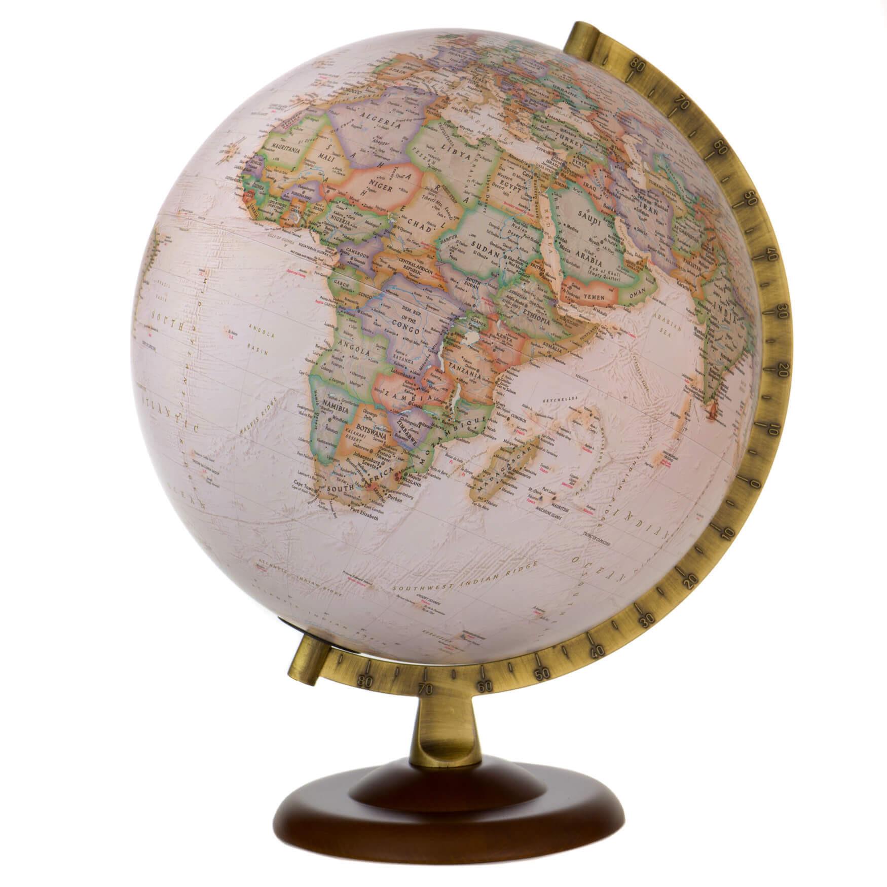 National Geographic Gold Executive Globe Non-illuminated *Second*