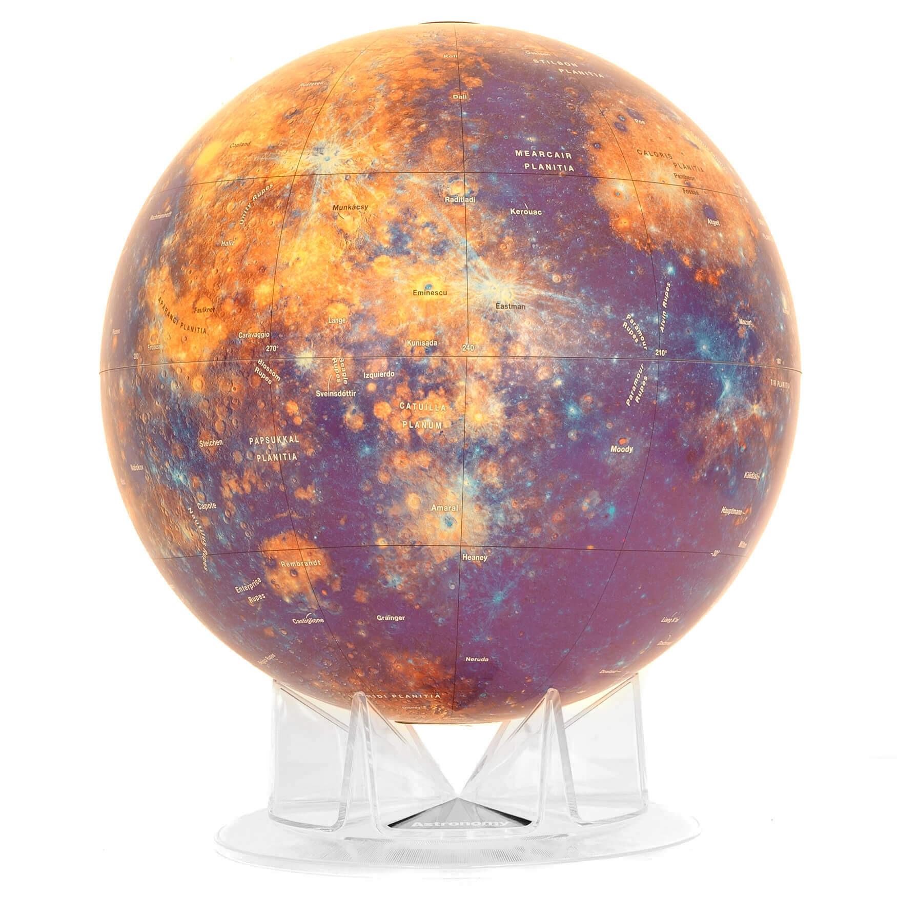Mercury Planet Astronomical Globe
