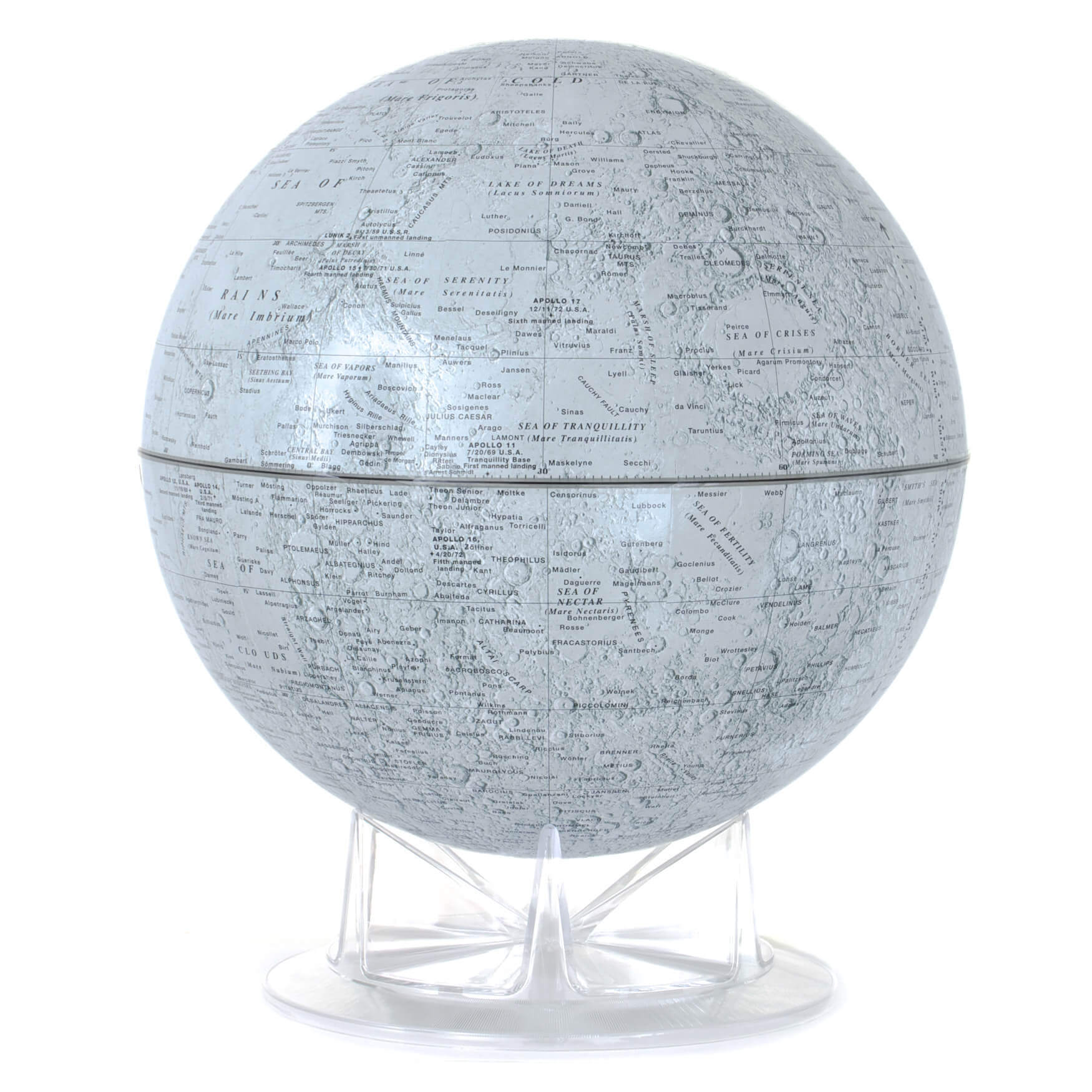 Moon Astronomical Globe