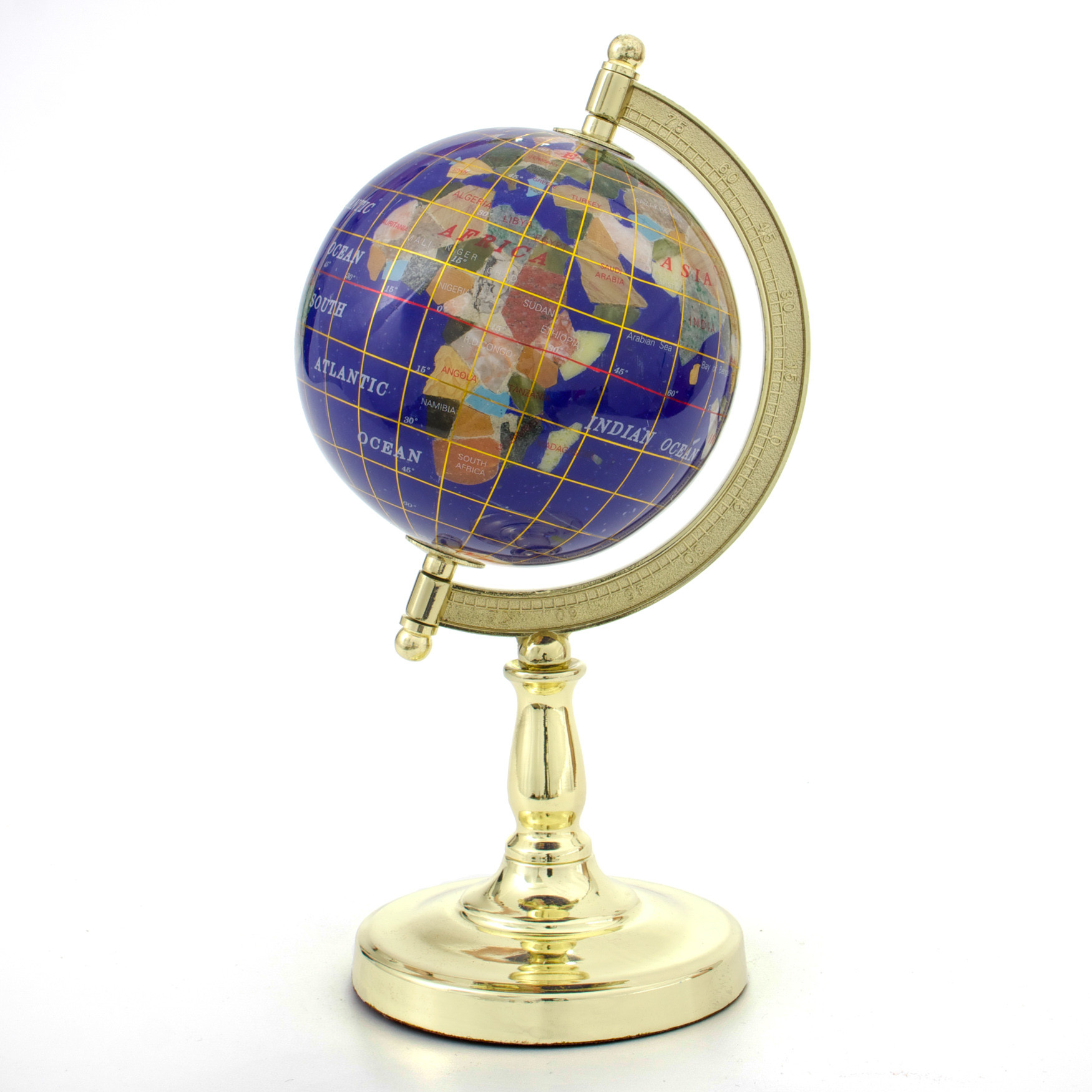 Phoebe Mini Gemstone Globe *Discontinued*