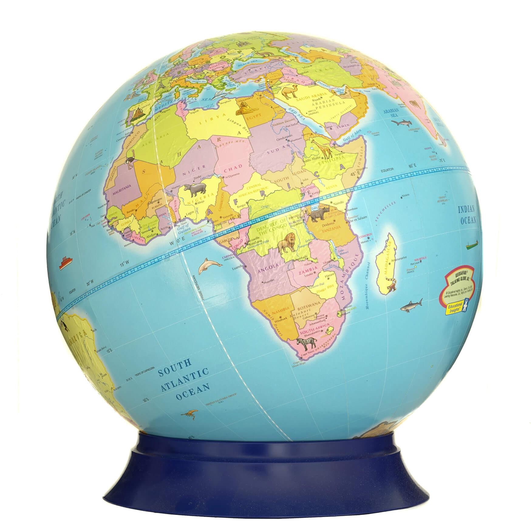 Safari Hands On Globe