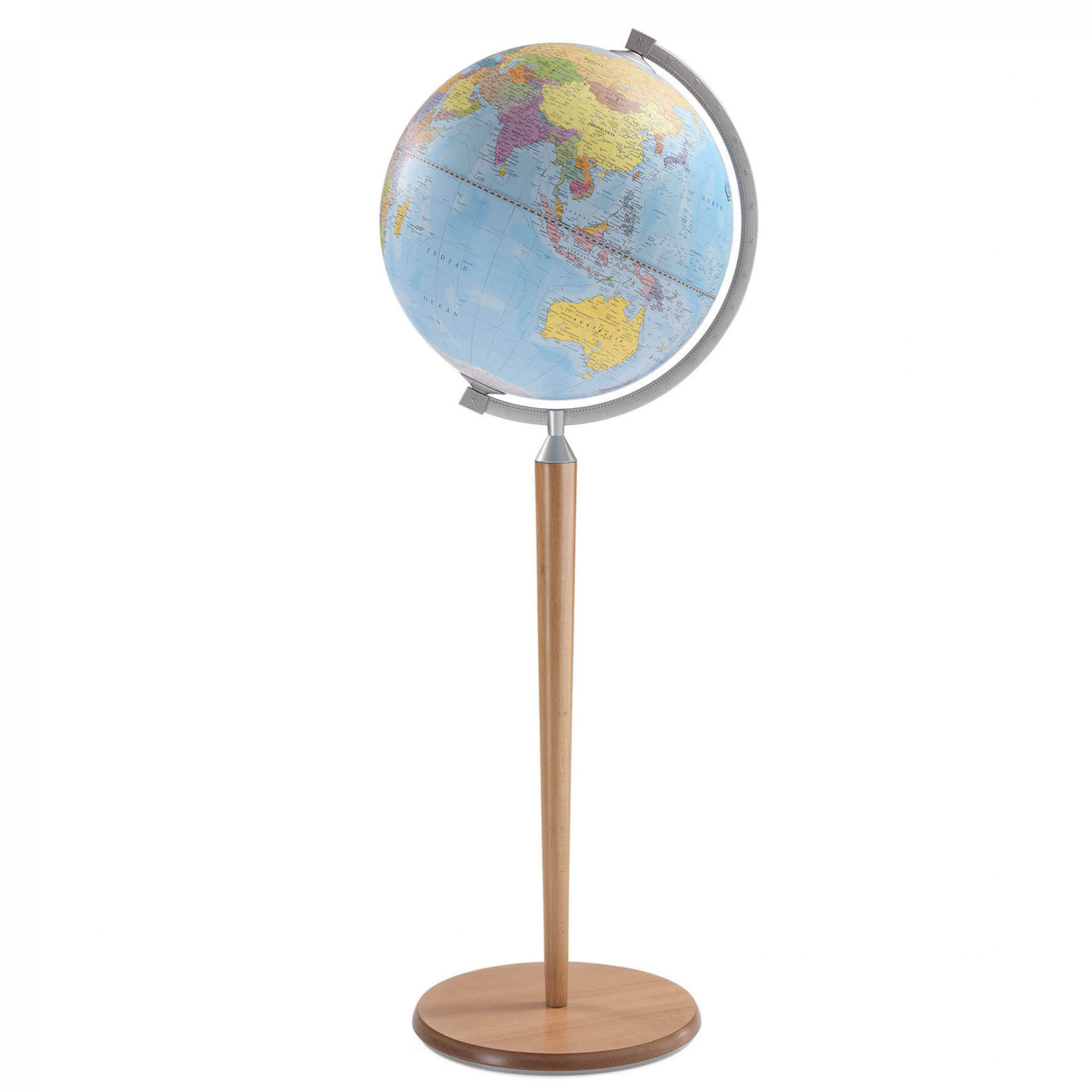 Vasco da Gama Blue Natural Globe