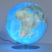 Forbes Illuminated Large Desk Globe