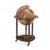 Explora Honey Brown Italian Globe Bar