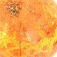 Venus Planet Astronomical Globe