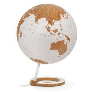 Bamboo Illuminated Globe