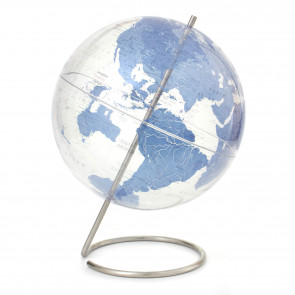 Crystal Marquise Blue Globe