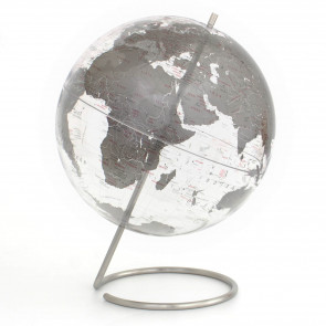 Crystal Marquise Silver Globe
