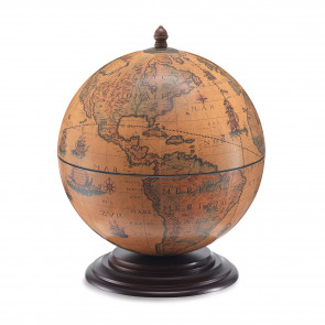 Dampier Italian Desk Globe Bar