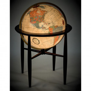 Finley Antique Illuminated Globe