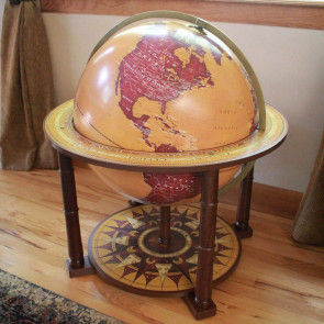 Frontier Floor Globe