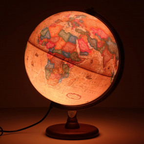 Hastings Antique Illuminated Globe