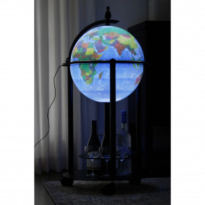 Magellan Illuminated Globe Bar