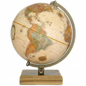 River American Walnut Globe