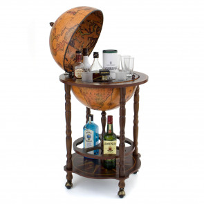 Scott Globe Bar with Open Drinks Cabinet