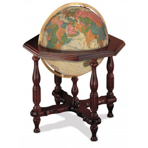 Statesman Antique Illuminated Globe