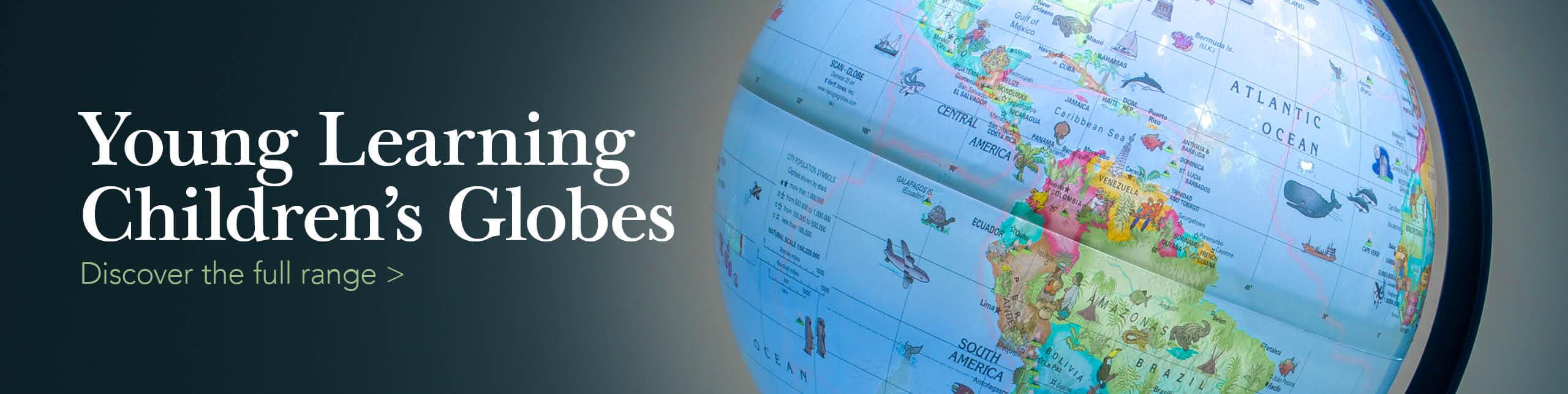 Children's Globes Banner