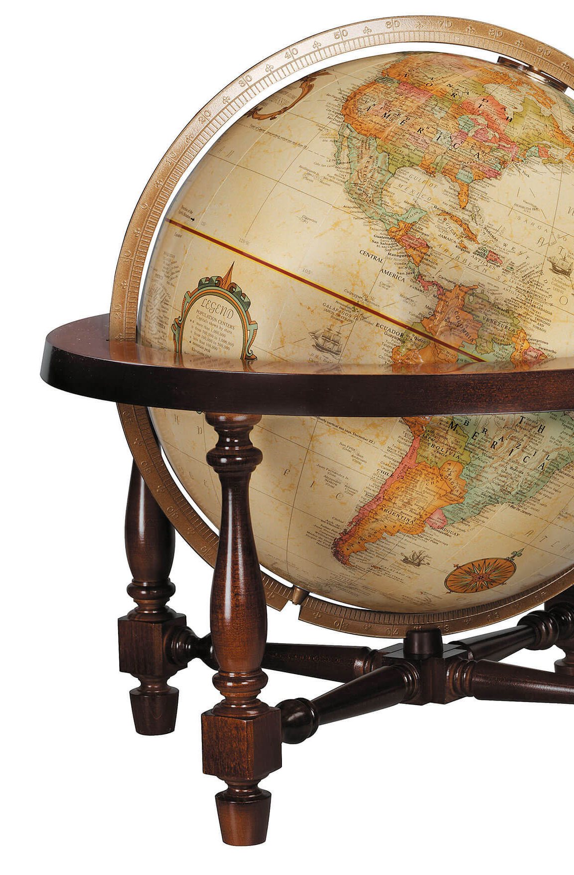 Colonial Desk Globe Cropped